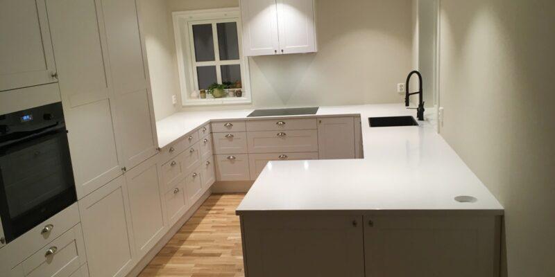 For hjelp med valg av benkeplate til kjøkkenet