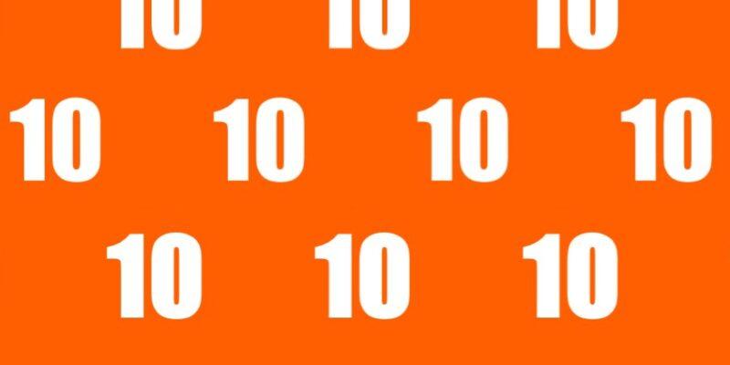 Granitops benkeplater – 10!